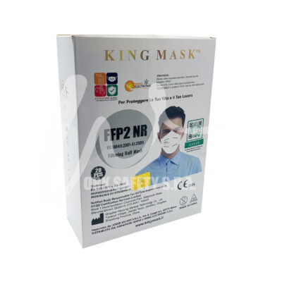 King Mask Front con Logo