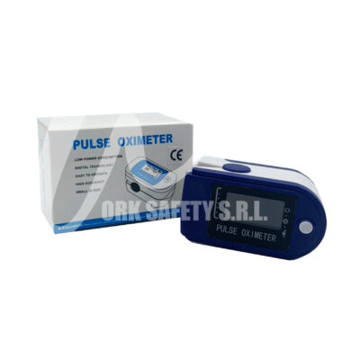 Pulse Oximer scatola aperta con Logo