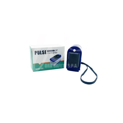 Pulse Oximeter SMH01 confezione aperta con Logo